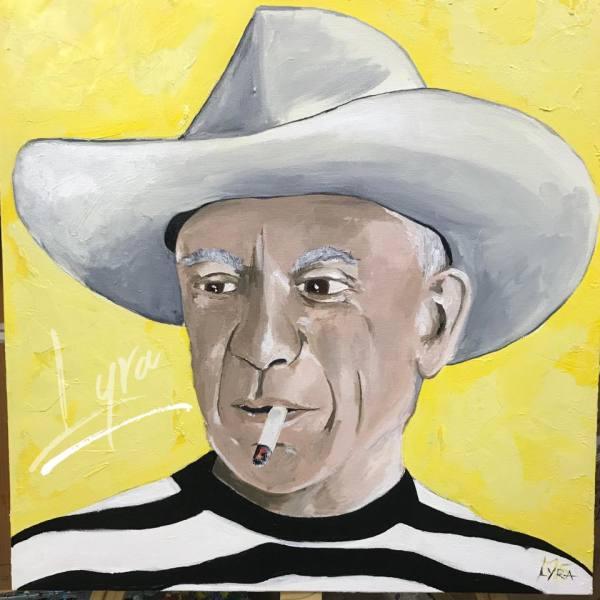 Pablo Picasso by Lyra Brayshaw