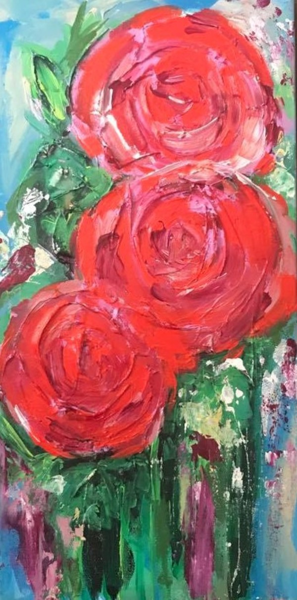 Red Roses by Lyra Brayshaw