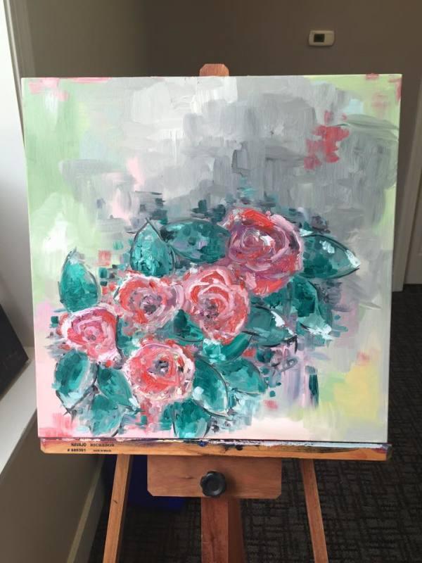 Rose Bush2 by Lyra Brayshaw