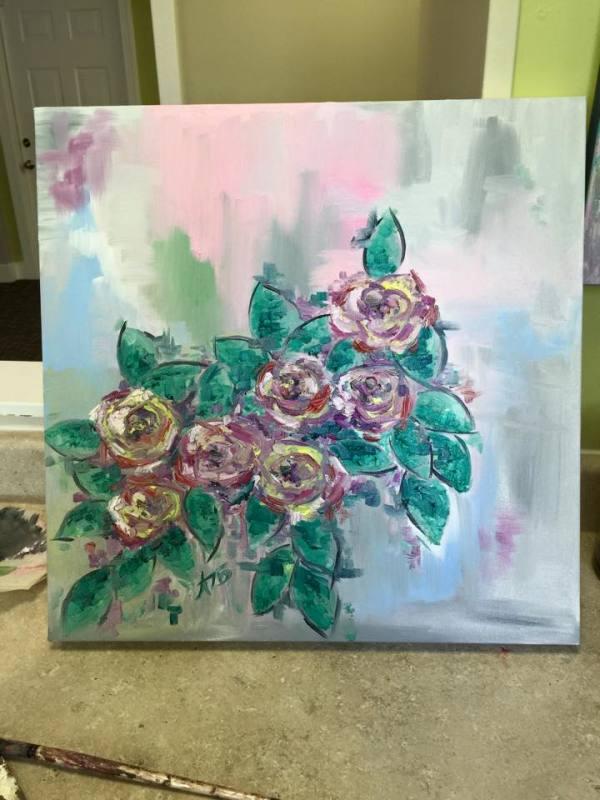 Rose Bush1 by Lyra Brayshaw