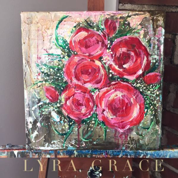 Rustic Roses 2 by Lyra Brayshaw