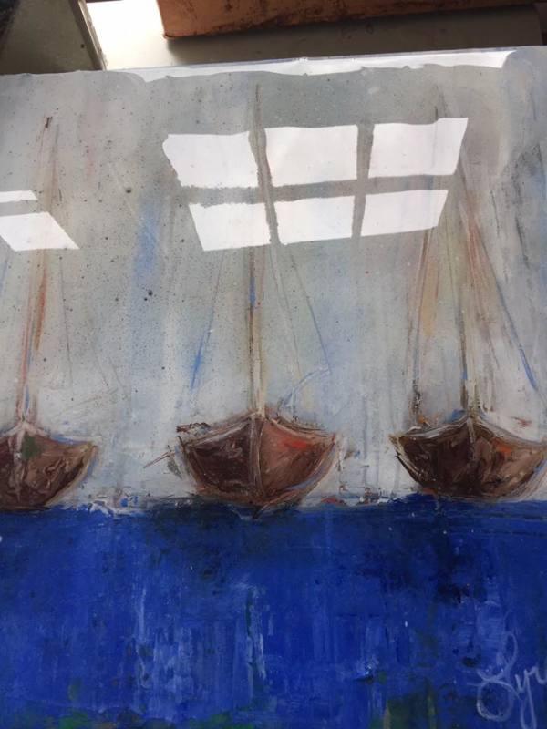 Still Boats by Lyra Brayshaw