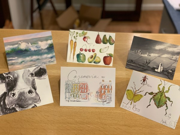Various Greeting Cards, Individually Wrapped by Jennifer Hooley