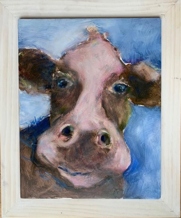 Same Cow LOL (Right) by Jennifer Hooley
