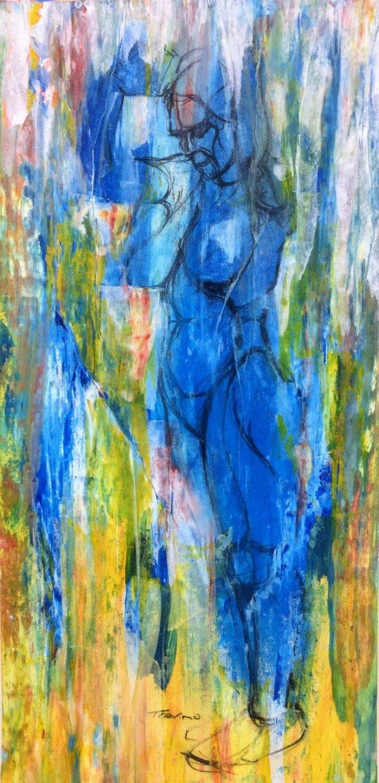 Shower Streak Study by James R Trevino