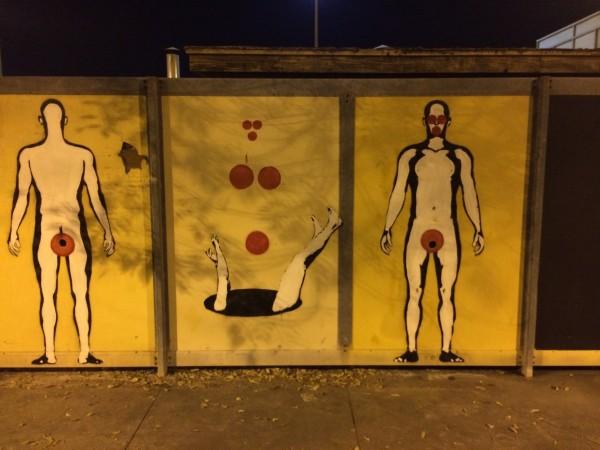Holes Mural by Karim Shuquem