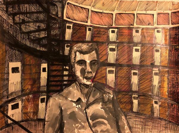 Prison Guard by Karim Shuquem
