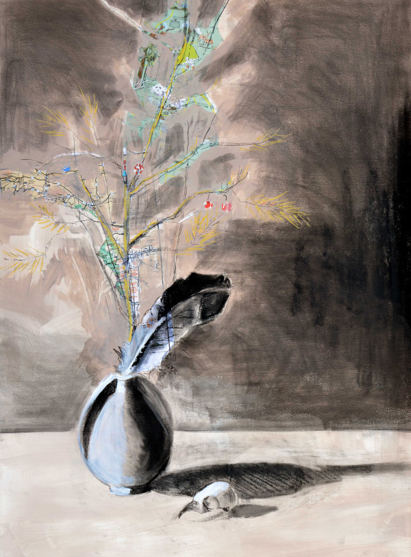 Asparagus Map by Deborah Mitchell