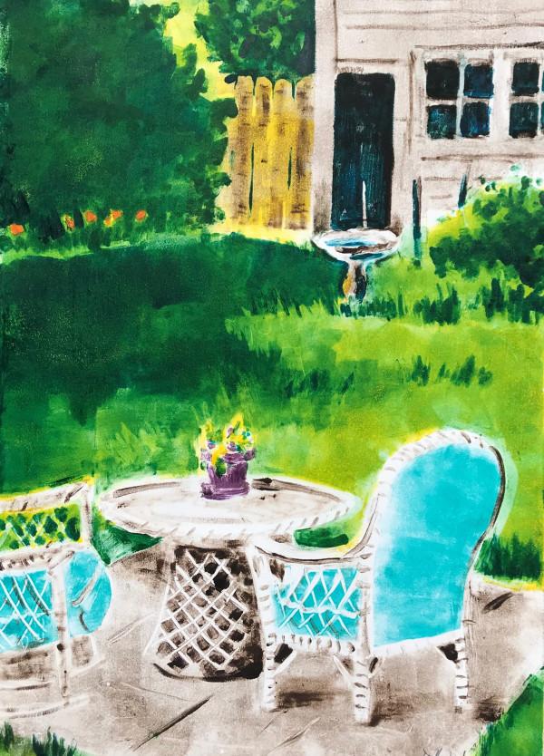 Backyard, Rapid City by Deborah Mitchell