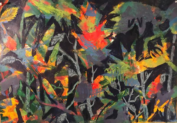 Garden on Fire by Deborah Mitchell