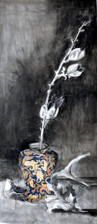 Paisley Vase by Deborah Mitchell
