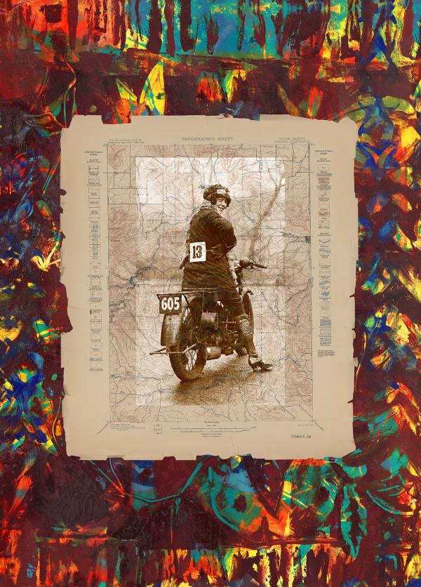 Sturgis Rider by Deborah Mitchell