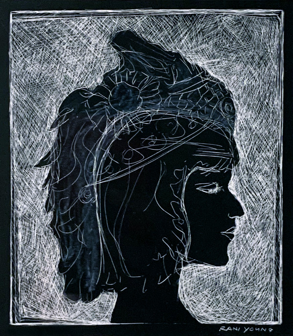 Cleopatra in Headdress by Rani Young