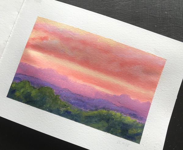 Landscape colour study 3 by Anna Vyce