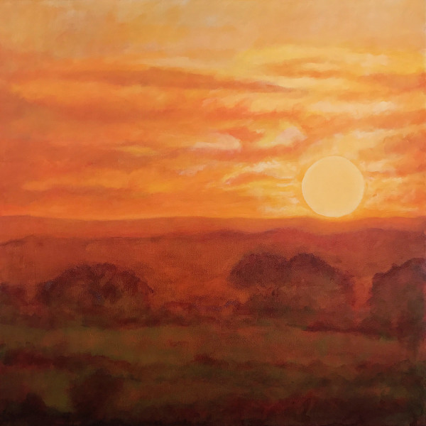 Sunset 2 by Anna Vyce
