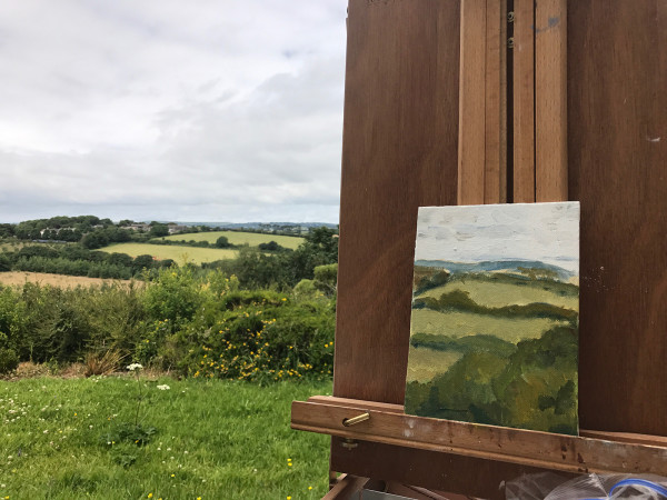 View towards Helford by Anna Vyce