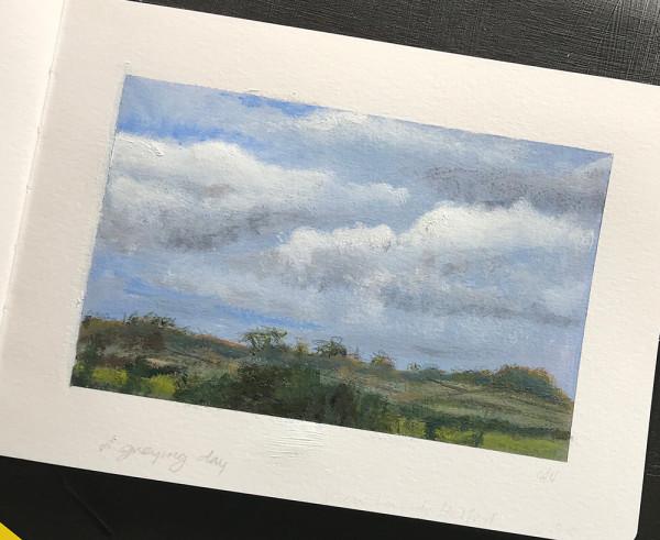 Landscape colour study 4 by Anna Vyce