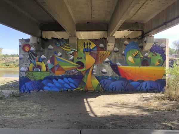 Riverdale Regional Park Mural 2021 by Michael Gadlin