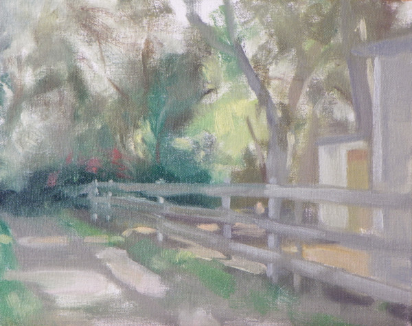 Along the Botanic Garden Trail by Curtis Green