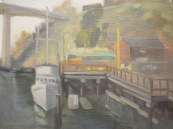 The Krysti at Noyo Harbor by Curtis Green