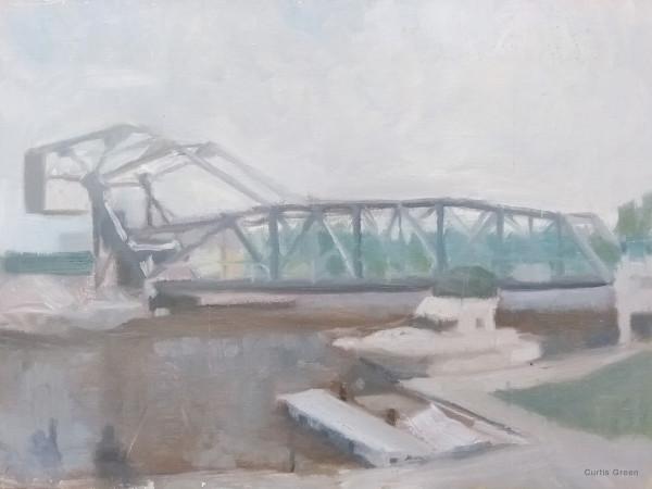 A Study of the Ashtabula Harbor Bridge by Curtis Green