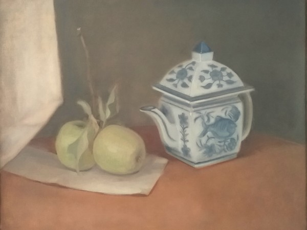 Untitled Still Life (Green Apples) by Curtis Green