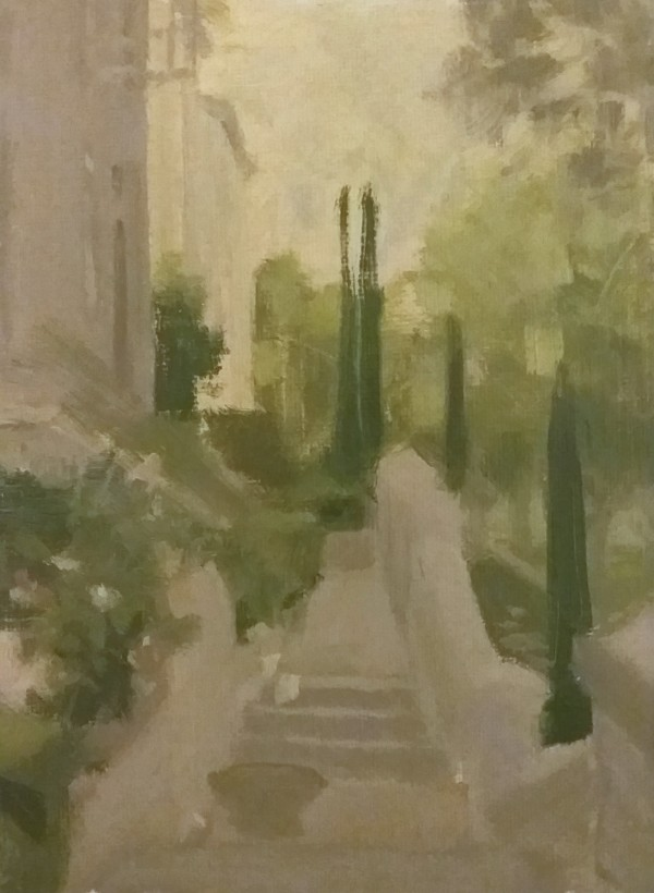A View from the Steps by Curtis Green