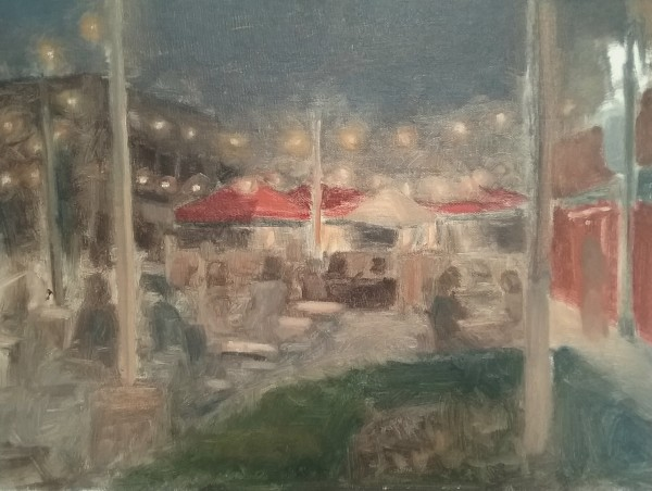 Dining Out on Richmond Street by Curtis Green