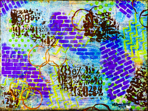 WRITING IN THE WALL by Audrey Beharie-McGee