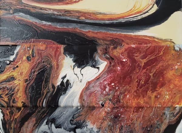 Volcanic Sky 2 by Sonya Sharp