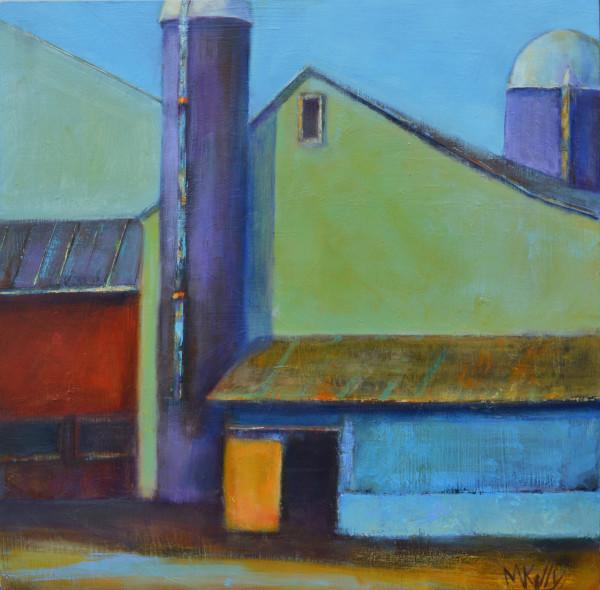 Kaleidoscope Barn by Madeleine Kelly