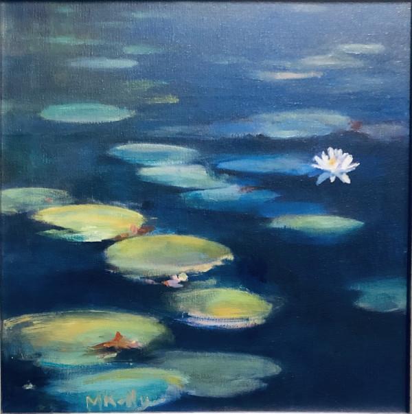 Longwood Lotuses by Madeleine Kelly