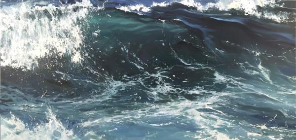 Crystal Wave II by Annie Wildey
