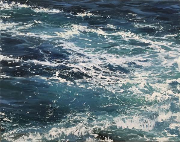 Waters Blue II by Annie Wildey