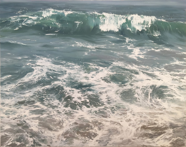 Wave on Shore by Annie Wildey