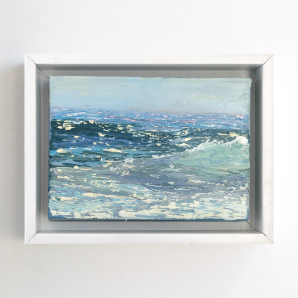 Sunlit Sea I by Annie Wildey