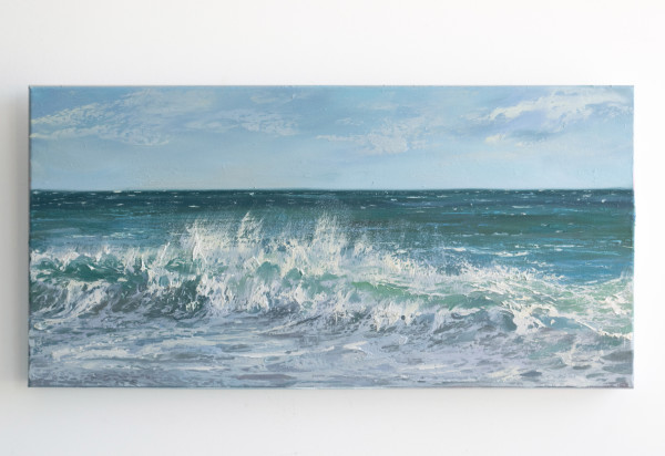 Summer Surf II by Annie Wildey
