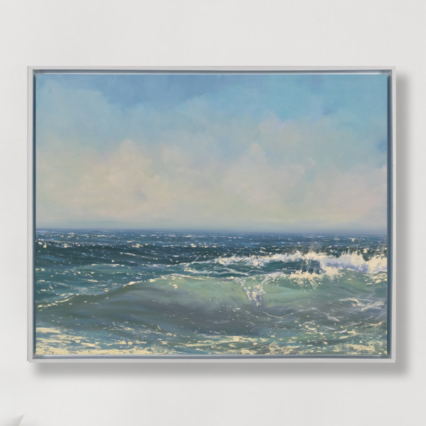 Glistening Sea by Annie Wildey