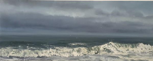 Evening Shore by Annie Wildey