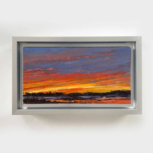 Red Sky at Night III by Annie Wildey