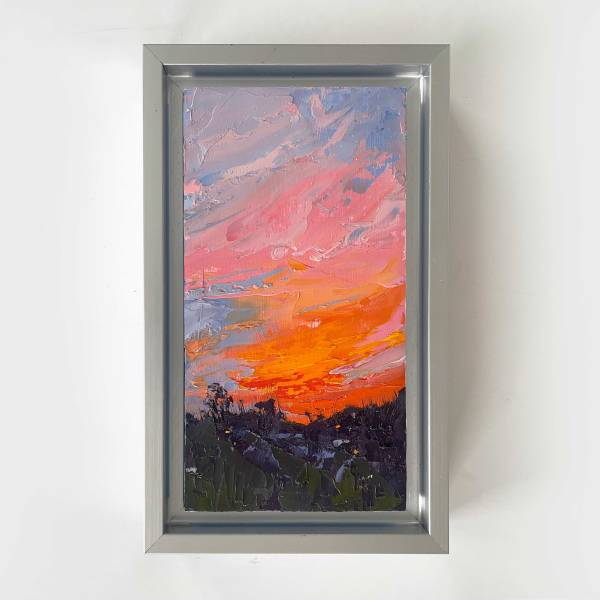 Red Sky at Night I by Annie Wildey