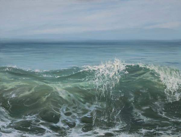 Morning Wave II by Annie Wildey