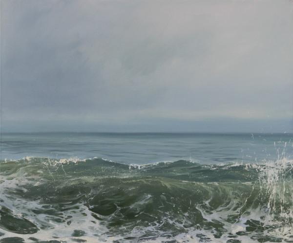 Morning Wave IV by Annie Wildey