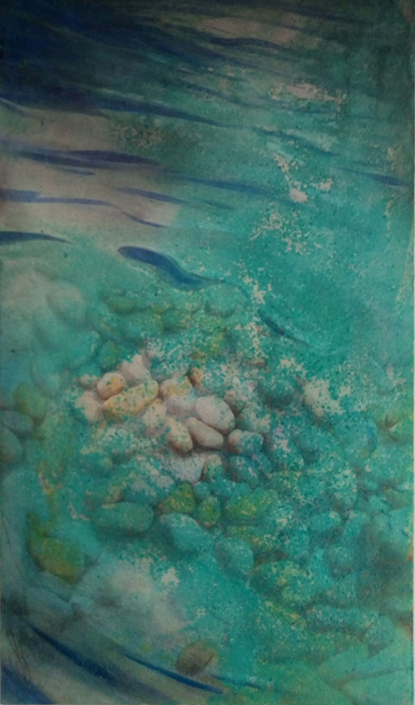 Underwater Morraine