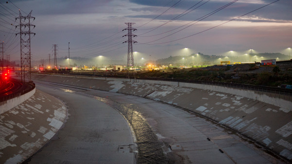 Southern Pacific Railyard, Los Angeles by T. Chick McClure