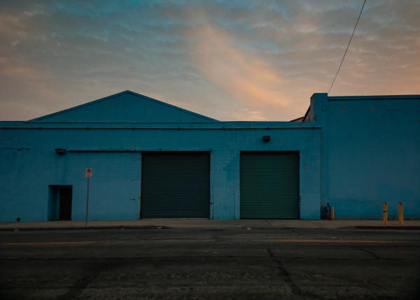 Blue Warehouse by T. Chick McClure