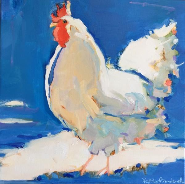 Blue Hen by kathleen broaderick