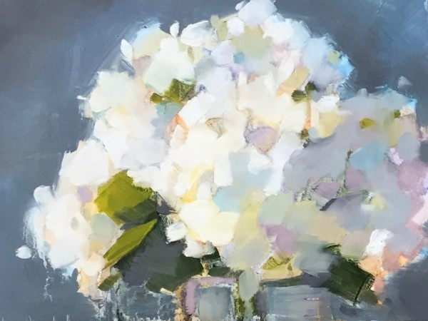 Hydrangeas by kathleen broaderick