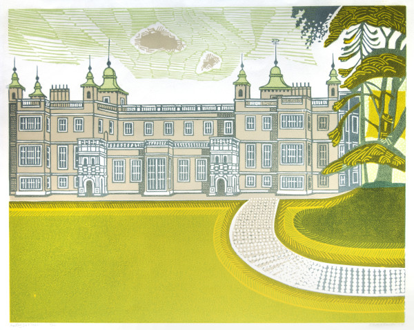 Audley End House by Edward Bawden