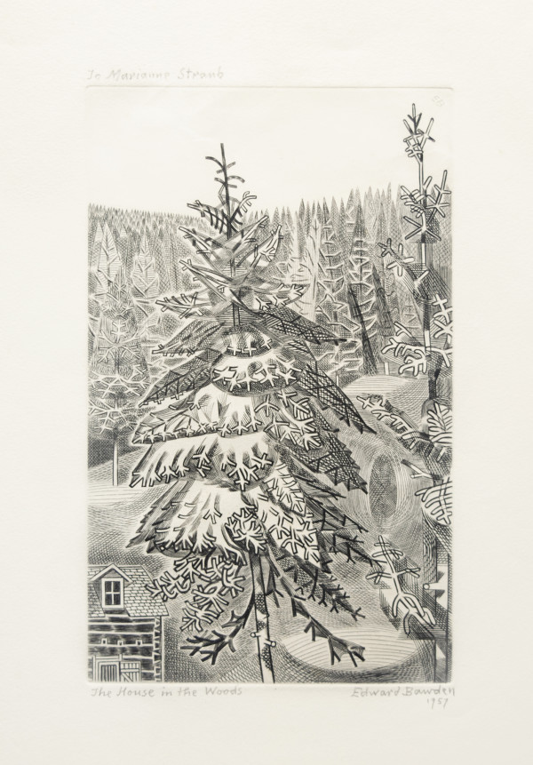 The House in the Woods by Edward Bawden